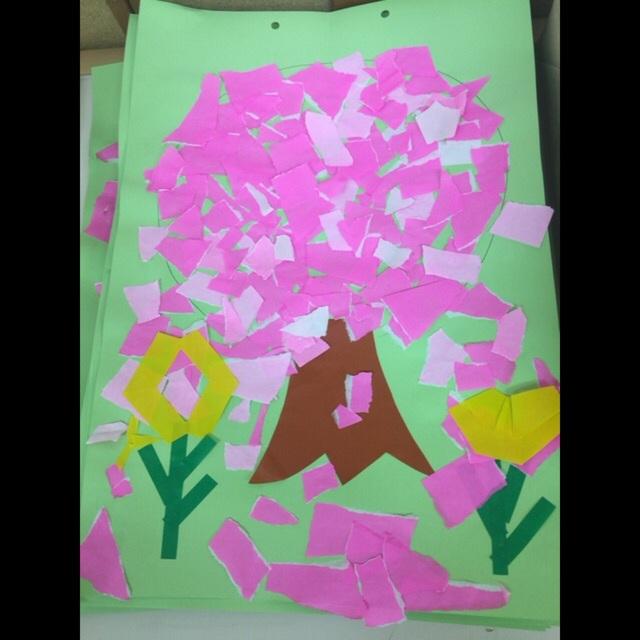 【アプリ投稿】(春の製作)4歳児