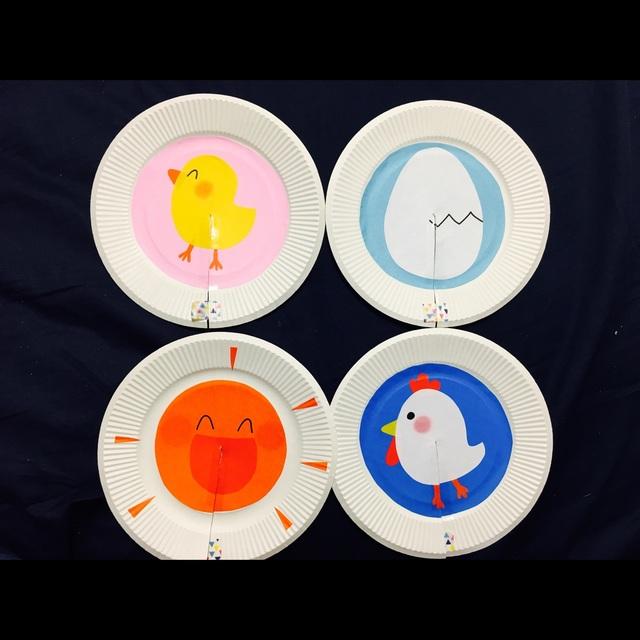 【アプリ投稿】【紙皿シアター】♪ころころたまご