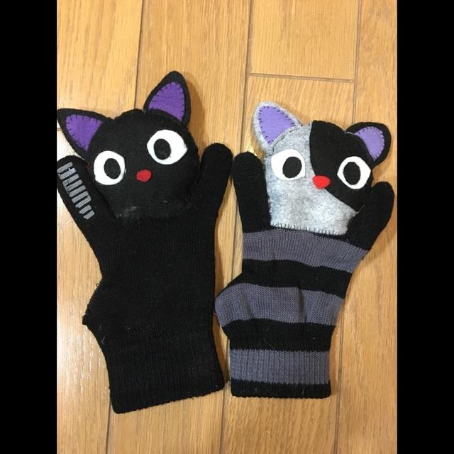 【アプリ投稿】手袋とフェルトでマスコット
