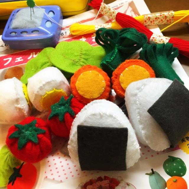 【アプリ投稿】手作りおもちゃ/食べ物
