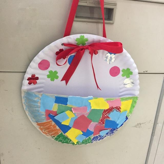 【アプリ投稿】【母の日制作】3歳児メッセージ入れ