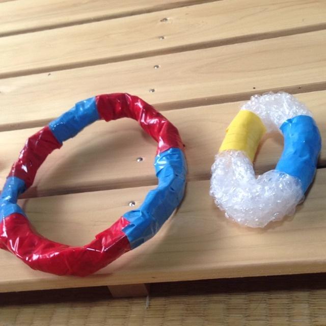 【アプリ投稿】【カラフルな輪っか】