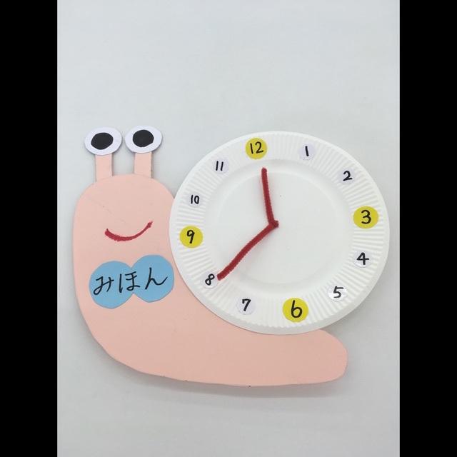 【アプリ投稿】【かたつむり時計】
