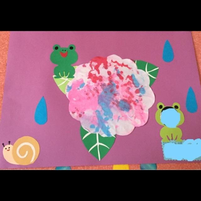 【アプリ投稿】紫陽花・壁面