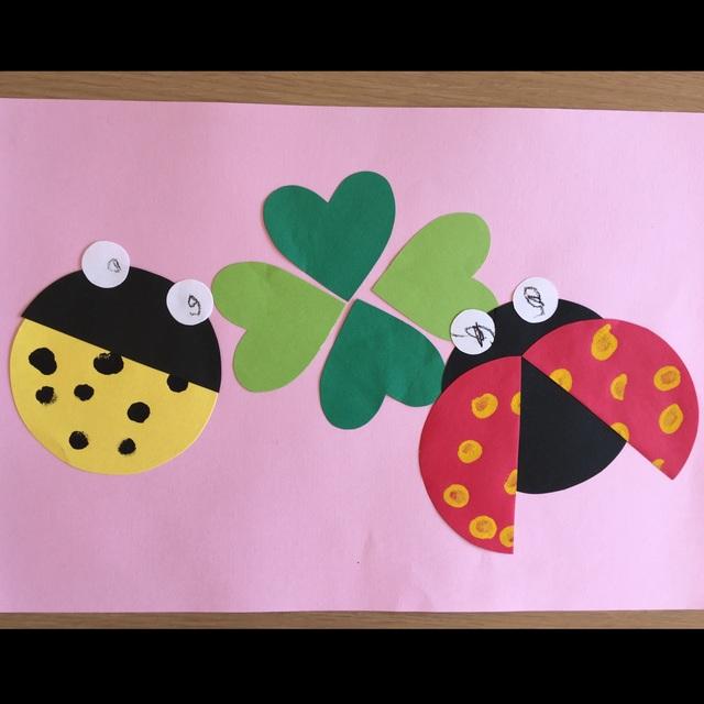 【アプリ投稿】2歳児  4月絵画