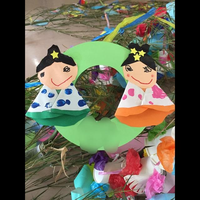 【アプリ投稿】織り姫、ひこ星‼︎4歳児