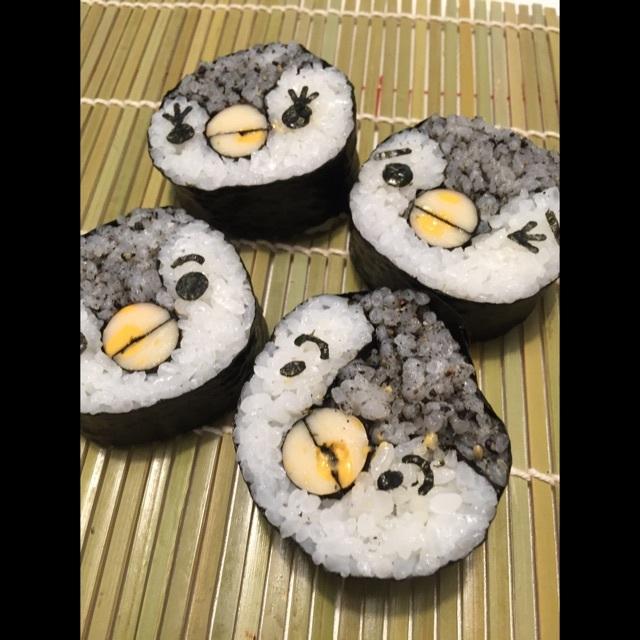 【アプリ投稿】デコ巻き寿司お米、のり、ゴマ、チーカマ