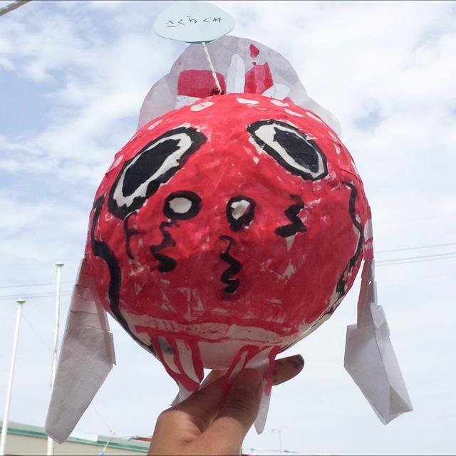 【アプリ投稿】金魚ねぶた(年長児制作)