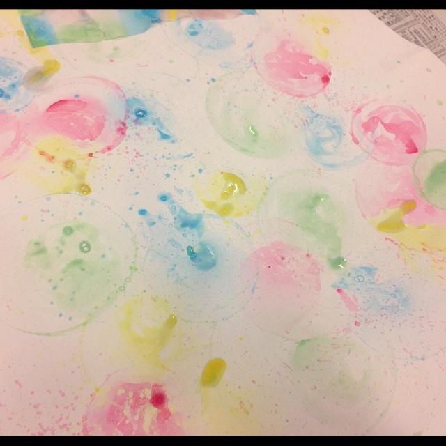 【アプリ投稿】シャボン玉に色をつけて♪
