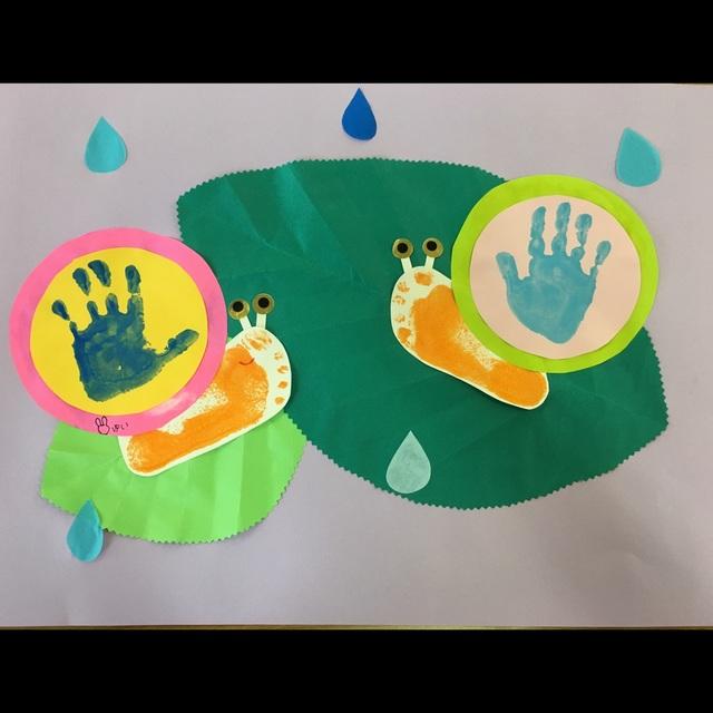 【アプリ投稿】2歳児 6月 壁面