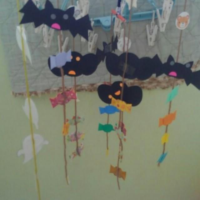 【アプリ投稿】2歳児☆ハロウィン製作
