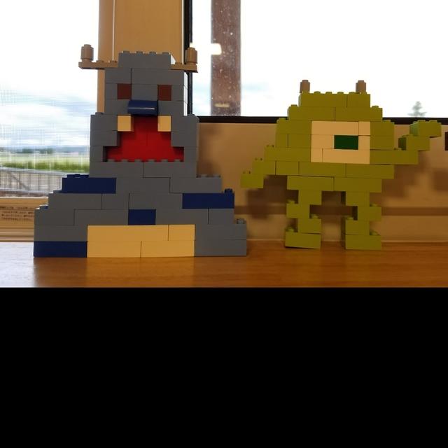 【アプリ投稿】レゴ作品 サリー マイク