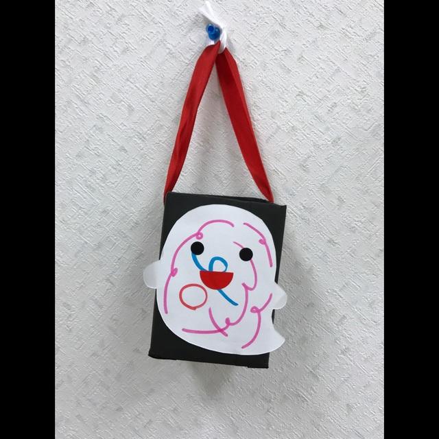 【アプリ投稿】【ハロウィンのお化け鞄】(1、2歳児)