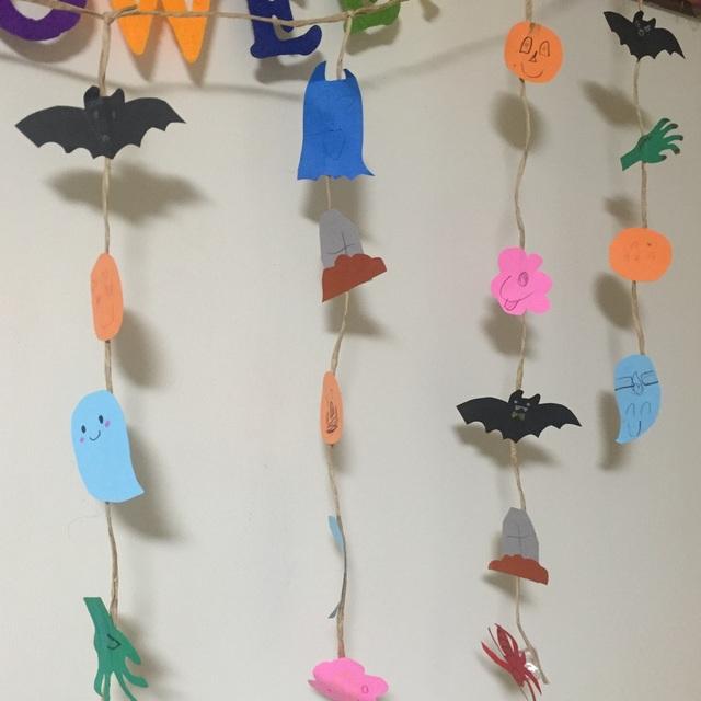 【アプリ投稿】【ハロウィン吊るしかざり】