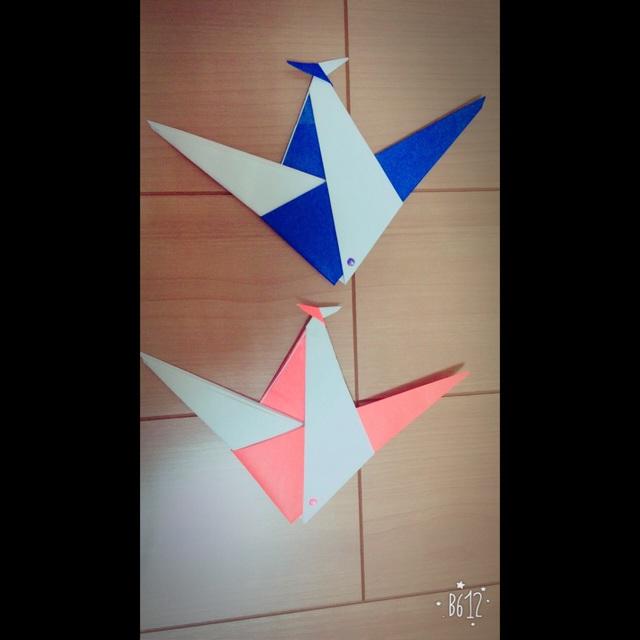 【アプリ投稿】折り紙「魚」