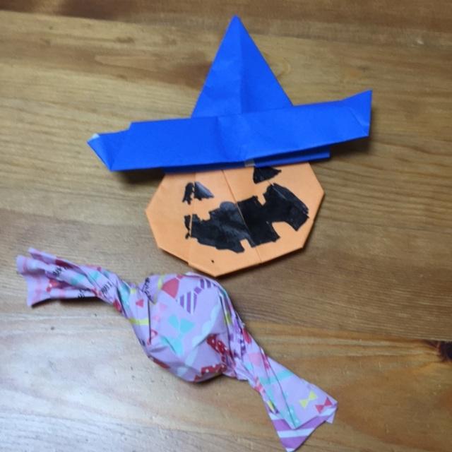 【アプリ投稿】親子で折り紙 ハロウィン 5歳