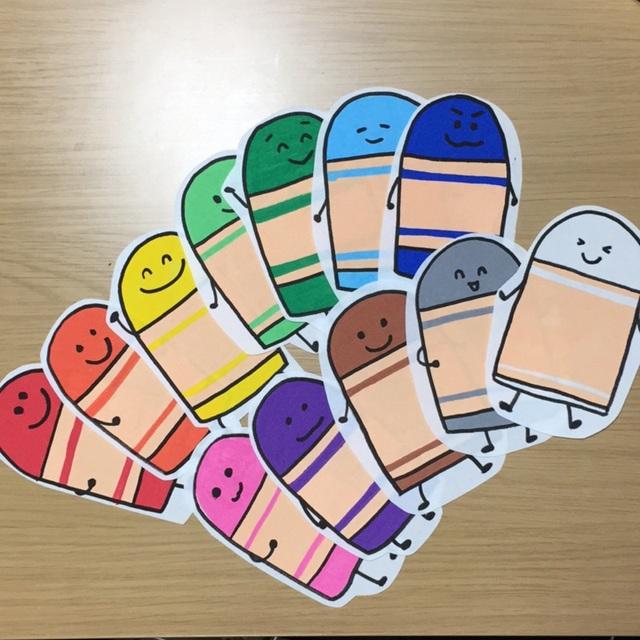 【アプリ投稿】どんな色が好き♪パネルシアター