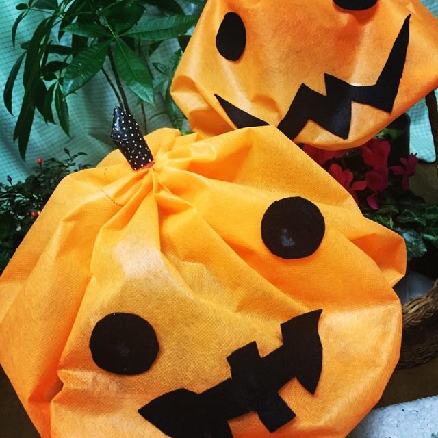 【アプリ投稿】かぼちゃおばけ帽子