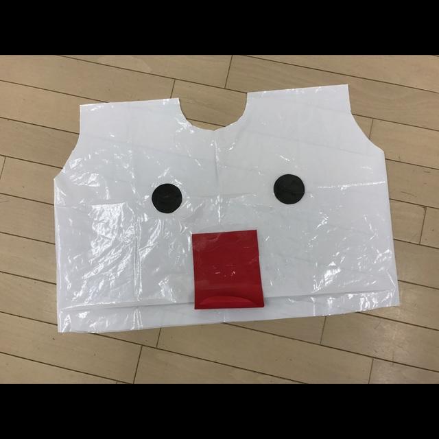 【アプリ投稿】【ハロウィンのオバケ衣装】
