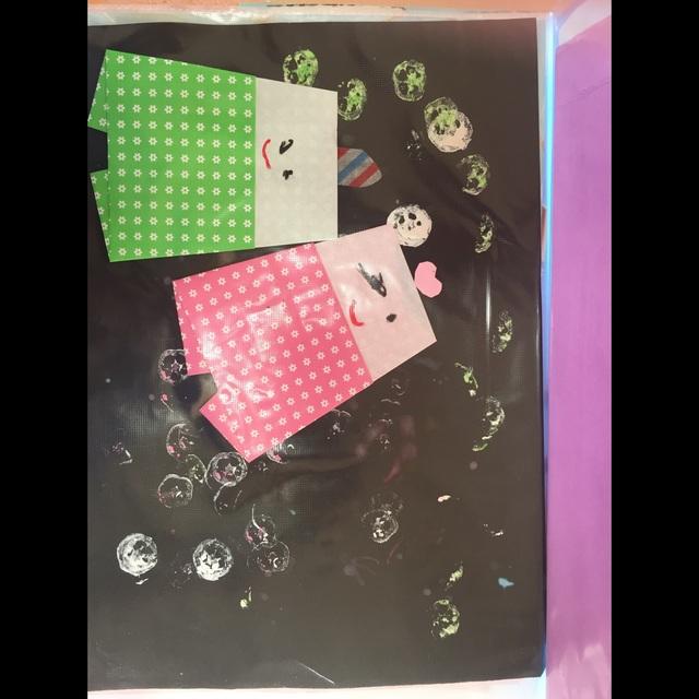 【アプリ投稿】たなばた 2歳児 折り紙で彦星と織姫