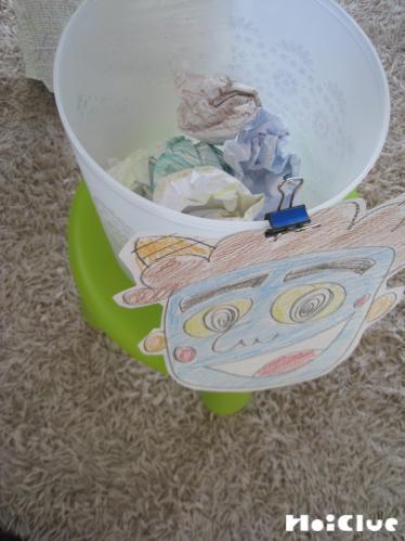 カラフル紙玉で鬼は外ゲーム〜節分時期に楽しめそうな手作りゲーム遊び〜
