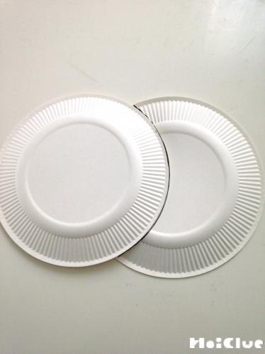 紙皿の写真