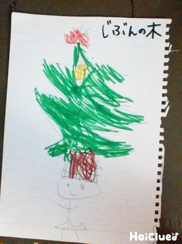 木の絵の写真