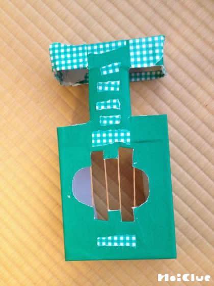 完成したギターの写真