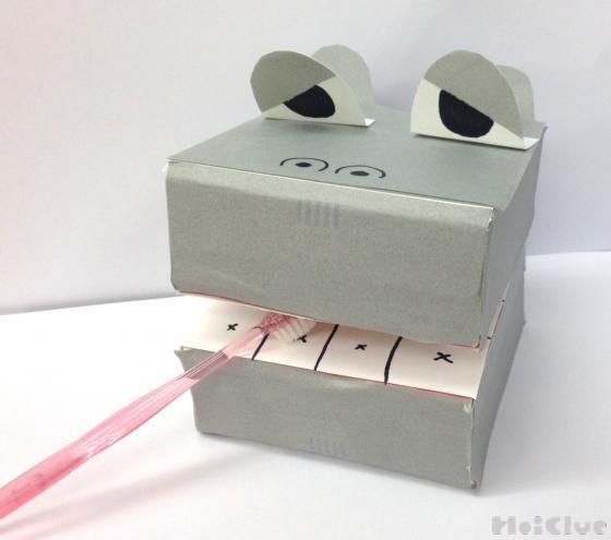 歯磨きかばくん〜歯やはみがきに興味が深まる手作りおもちゃ〜