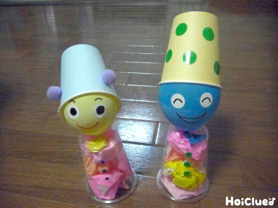 ゆ〜らゆら不思議なこびとさん〜風船で楽しむおもしろ製作遊び〜