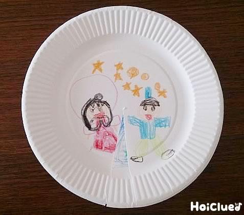 クルクル七夕物語〜紙皿2枚で楽しみ広がるアイデア製作遊び〜