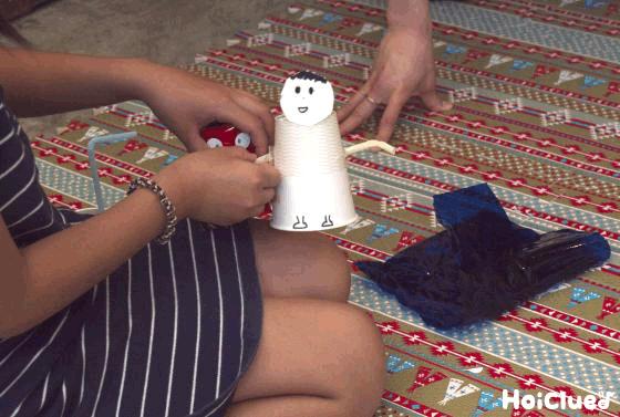 まん丸お顔のお人形〜アレンジ広がる紙コップの製作遊び〜