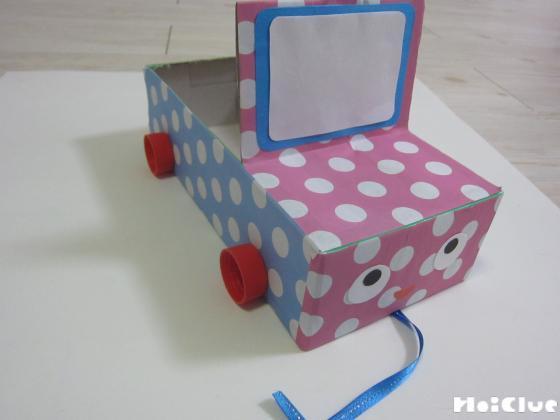 おもちゃカート完成の写真