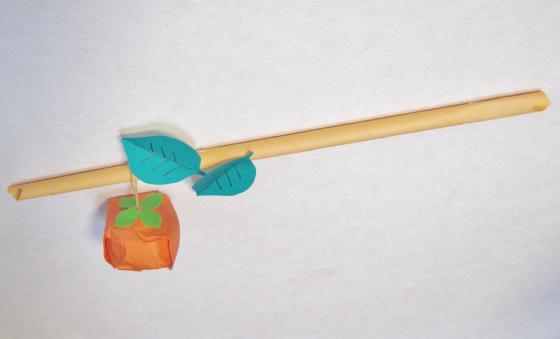 もぎとれちゃう手作り柿