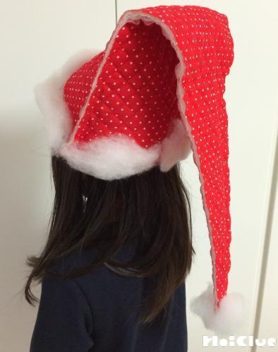 大きなサンタさんの帽子〜手作りクリスマスグッズ〜