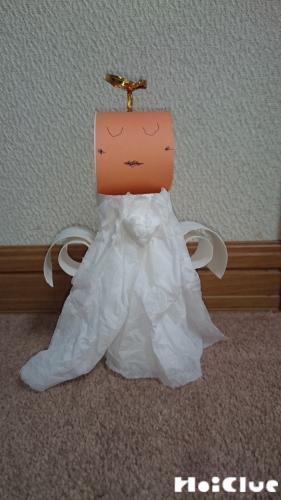 トイレットペーパーの芯で作る天使〜廃材で楽しむ製作遊び〜