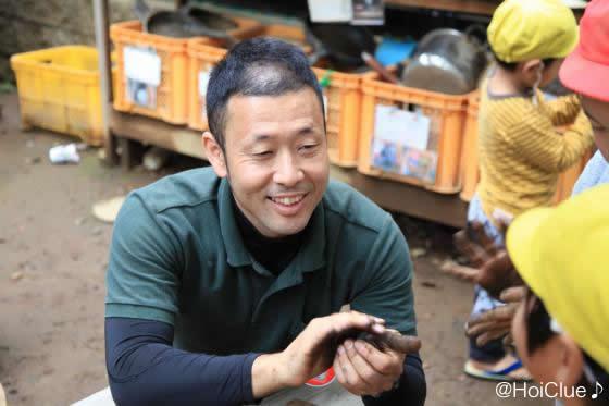 園長の荒川先生の写真