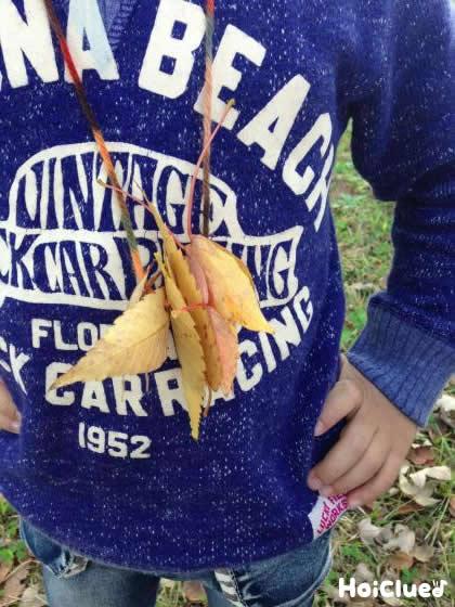 落ち葉でネックレス〜身近な自然を楽しむ手作りアクセサリー〜