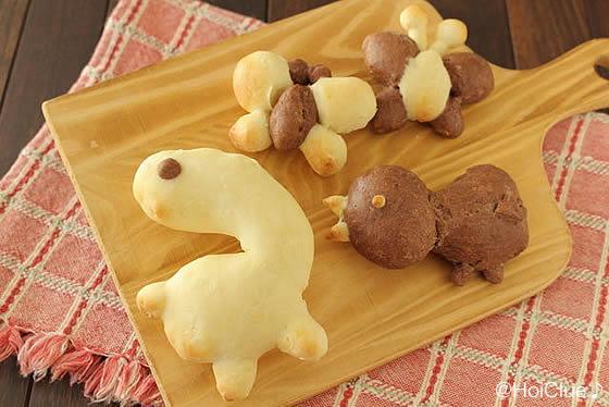【絵本×クッキング】 発酵いらずで作れる手作りパン〜からすのパンやさん〜