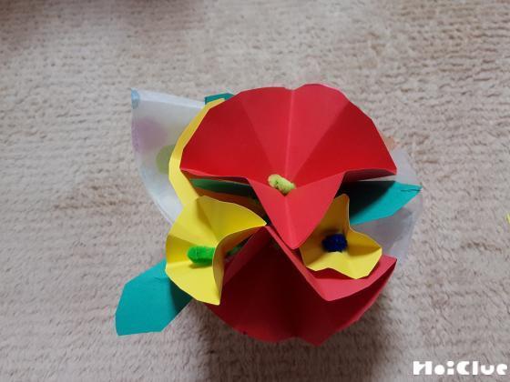 手作りお花のブーケ〜贈りものにもうれしい製作遊び〜