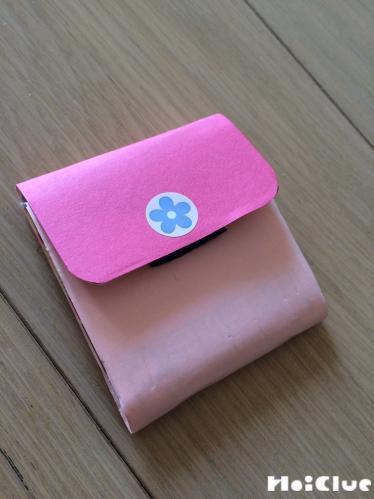 本物みたいなコンパクト財布〜お店屋さんごっこにもぴったりの手作りアイテム〜