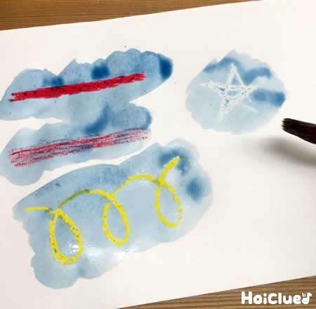 【お絵描き技法】はじき絵〜絵の具とクレヨンで楽しむお絵描き遊び〜