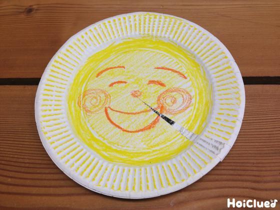 こんばんは、おつきさま〜くるっと回して紙皿おつきさま〜<br />