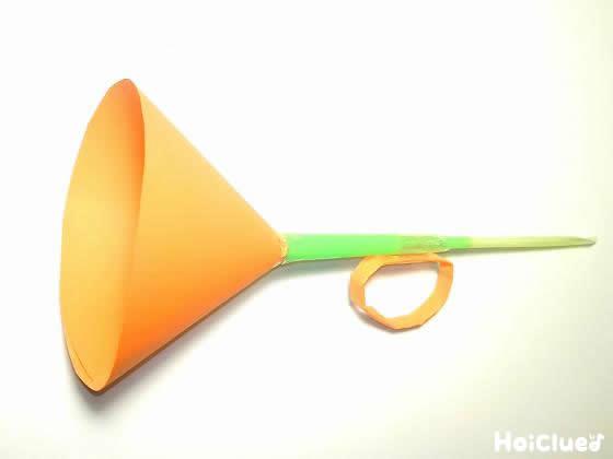 ストロー笛のラッパ〜意外なものを使った手作り楽