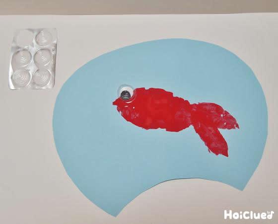 金魚の絵を作った写真