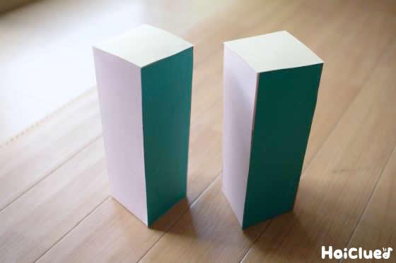折り紙で全体を覆った写真