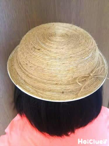 本物そっくり麦わら帽子〜たった2つの材料で作れる、夏の手作りアイテム〜