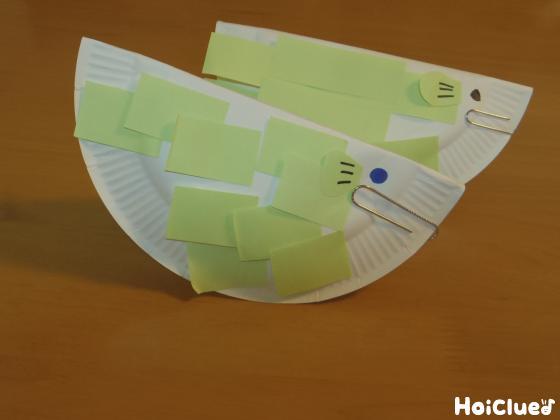うろこペタペタ!お魚さん〜紙皿で楽しむ動く製作遊び〜
