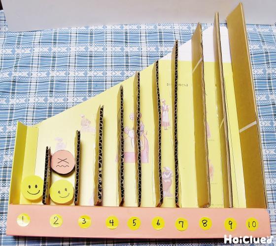 1つ、2つ、3つ…手作り積み上げおもちゃ〜数字や数が楽しめそうな製作遊び〜