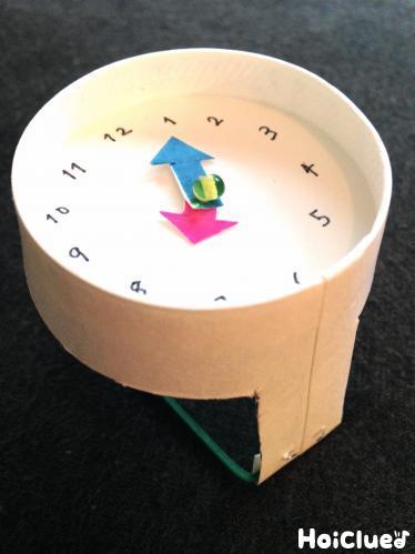 チクタク紙コップ腕時計〜クルクル針が回るアイディア製作遊び〜